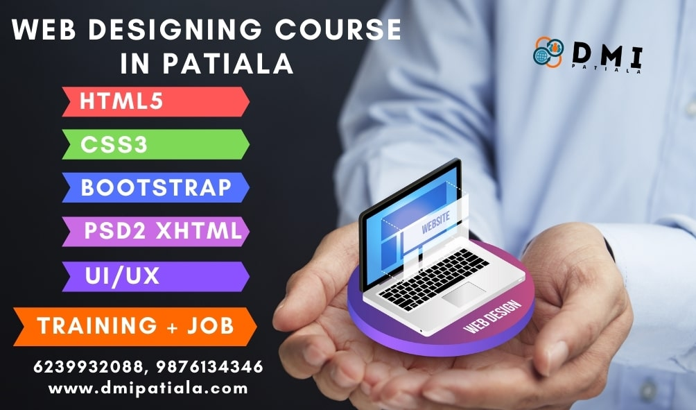 web designing course in patiala